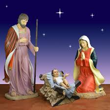 Outdoor Plastic Light Up Nativity Scene by Outdoor Holy Family Set Outdoor Designs