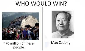 Chinese People Meme - who would win memes slowly rising might be a good time to invest