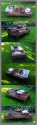 Patio Furniture Using Pallets by Best 25 Pallet Table Outdoor Ideas On Pinterest Diy Pallet
