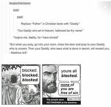 Blocked Meme - youre blocked jesus meme dust off the bible