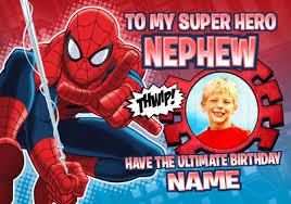 spiderman birthday u0026 greeting cards funky pigeon
