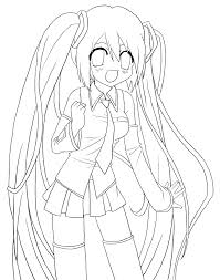 amazing hatsune miku coloring pages 87 for your coloring pages
