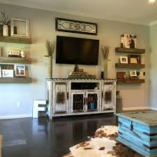Rustic Decorating Ideas For Living Rooms Best 25 Tv Console Decorating Ideas On Pinterest Tv Stand Decor