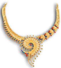 image gold necklace images Exclusive indian gold bridal jewellery and gold set jpg