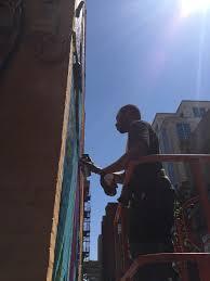 artist brightens downtown fort wayne wane
