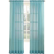 Sheer Teal Curtains Sheer Curtains You Ll Wayfair
