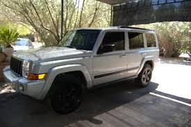 undercover police jeep commander stock rims matte black jeep commander forums jeep