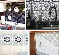 removable kitchen backsplash solutions for renters kitchens centsational style