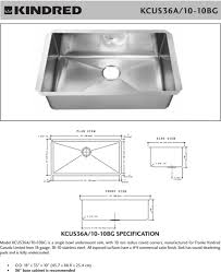 Kitchen Sink Cabinet Size Kitchen Sink Cabinet Dimensions Home Design Ideas