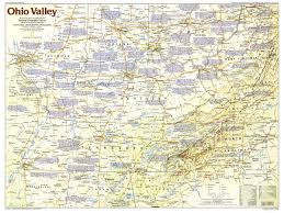 Map Of Southwest Ohio Ohio Counties Wall Map Maps Com