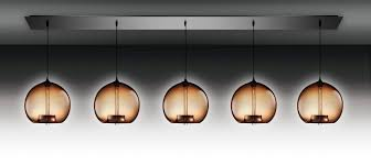 linear flush mount ceiling light contemporary ceiling light linear glass blown 5 by jeremy pyles