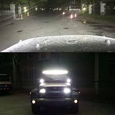 automotive led light bars jeep wrangler 52 inch curved led light bar