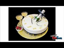 Happy New Year Cake Decoration by Happy New Year Cakes Happy New Year Themed Cakes Youtube