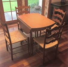 pennsylvania house cherry dining room set rust belt revival online auctions