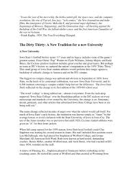Football Coaching Resume Examples by The Dirty Thirty A New Tradition For A New University Oklahoma