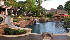 Pool Ideas For Backyard Outstanding Traditional Swimming Pool Designs For Any Backyard