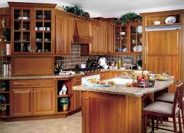 kitchen perfect with oak cabinets inside modern tile ceramics
