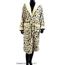 robe de chambre leopard robe de chambre femme en pilou polaire modèle léopard chaleur