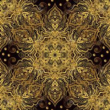 vintage luxury background with a black backdrop and gold ornaments