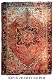 Antique Heriz Rug About Persian Heriz Antique Oriental Rugs An Introduction