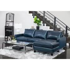 blue leather furniture for less overstock com