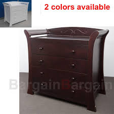 Baby Drawers With Change Table Wooden Baby Chest Of 4 Drawers Change Table Free Change Pad 611