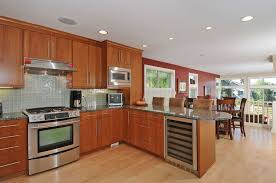 Sky Kitchen Cabinets Modern Kitchen With European Cabinets U0026 Kitchen Peninsula In