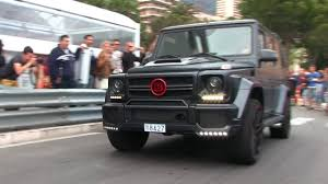jeep mercedes red matte black u0027brabus b70 u0027 mercedes g63 amg w red details in monaco