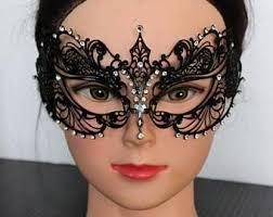 black lace masquerade masks lace masquerade mask etsy