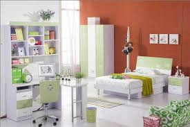 idyllic modern bedroom furniture for kids combine shelves with