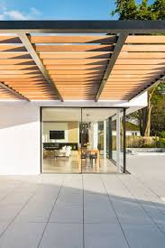 Pergola Off House by White Oaks House By Barc Architects Contemporist