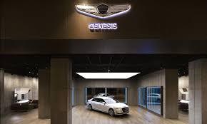 lexus gs vs hyundai genesis hyundai u0027s genesis luxury brand set to open first dedicated showroom