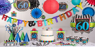 60th birthday decorations celebrate 60th birthday party supplies 60th birthday party city