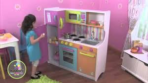 Kidkraft Kitchens Kidkraft Big U0026 Bright Play Kitchen W 27 Piece Cookware Set