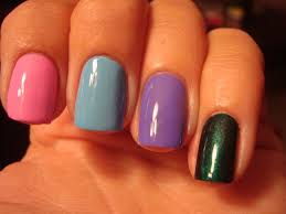 chloe u0027s nails black light polish 1 word awesome