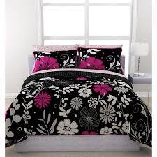 Comforter At Walmart Formula Twilight Garden Reversible Bed In A Bag Walmart Com