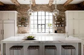 faux brick backsplash in kitchen kitchen brick backsplash kitchen with white brick backsplash