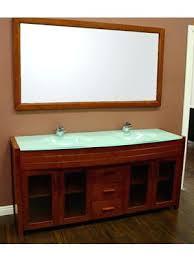 63 inch double sink bathroom vanity waterfall double sink vanity