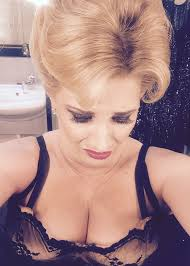 factor sam bailey shows boobage backstage