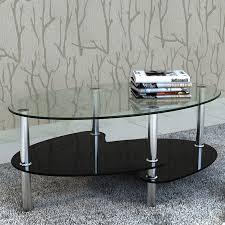 Wohnzimmertisch Uhr Couchtisch Beistelltisch Tisch Wohnzimmertisch Glastisch 3 Platte