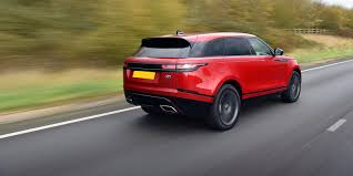 range rover coupe land rover range rover velar review carwow