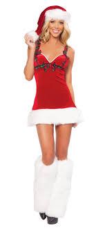womens santa costume attractive women santa claus costume on christmas chicas navideñas