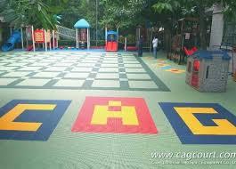 outdoor kindergarten flooring safe playground id 6160921