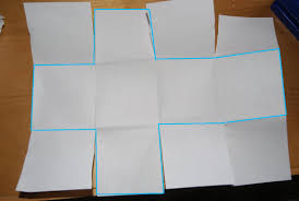 How To Make A Box With Paper - easy paper box s houseful of chaos