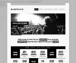wordpress templates for websites 20 beautiful events production website templates u0026 wordpress themes