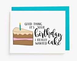 birthday cake card etsy