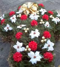 cross grave blanket monument saddles vase grave blankets