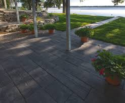 Wood Grain Stamped Concrete by Barn Plank From Silver Creek Stoneworks Rochester Concrete Products