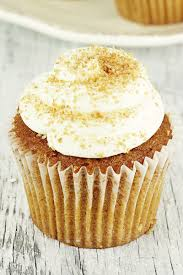 Pumpkin Cupcakes by Pumpkin Cupcakes With Maple Cream Cheese Frosting Kitchme