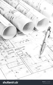 blueprints for new homes architectural blueprints new homes stock photo 131734763